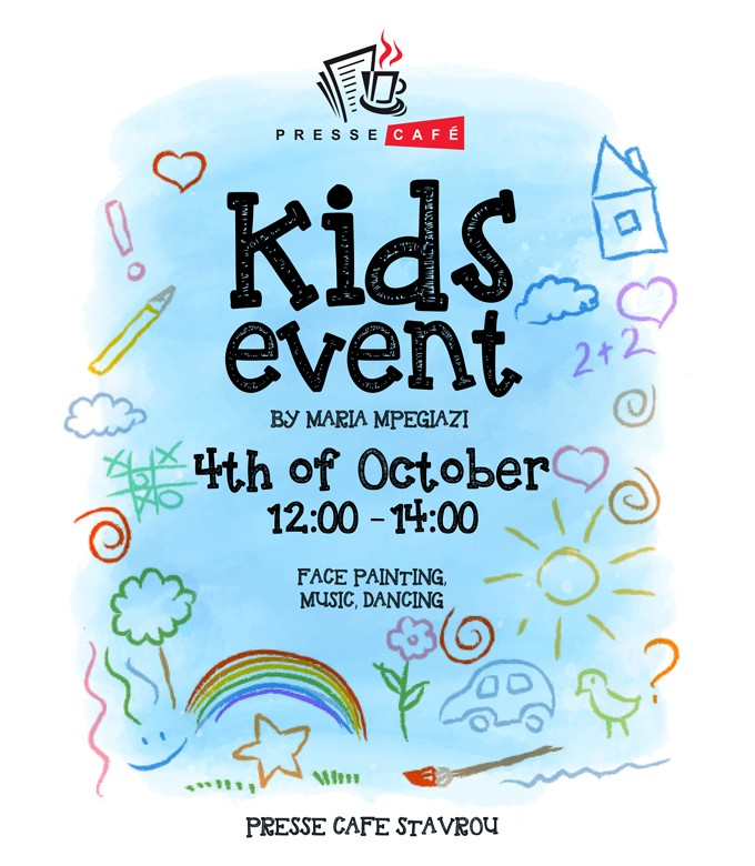 Kids Event at Presse Café Stavrou